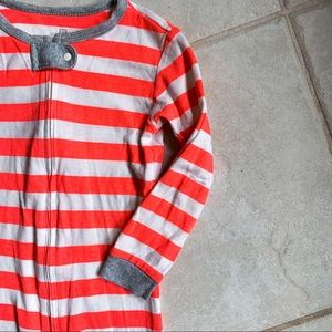 GAP • Striped Footless Pajamas